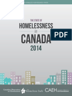 State of Homelessness 2014