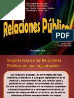 RRPP Bienes y Servicios