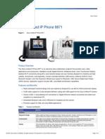 Telefono Ip Cisco 9971 c Cam