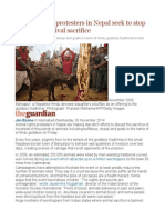 Animal Rights Protesters in Nepal Seek to Stop Gadhimai Festival Sacrifice