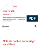 Riego Peru