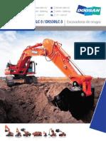 Excabadora Dossan Dx420lc-3 Dx490lc-3 Dx530lc-3 Es