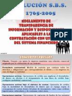 Reglamento de Transparencia de Información y Disposiciones Aplicables