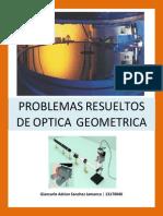 Problemas de Optica Geometrica RESUELTOS