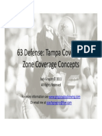 63 Defense Tampa Cover 2 Zone Coverage Conceptsx