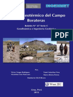 Boletin Nº 047- Estudio Geotérmico Del Campo Borateras