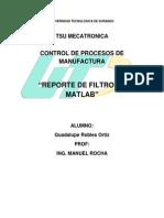Reporte de Matlab