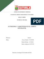 Autoestima y Asertividad en El Ámbito Estudiantil (1)