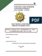 Perfil Del Proyecto Plc