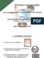 Diapositivas Nociones Generales de Geografia