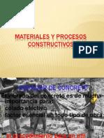 Materiales y Procesos Constructivos