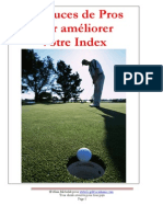 10 Astuces de Pros Pour Ameliorer Votre Index