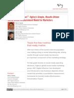 Ogilvy's 360 Digital Influence's Conversation Impact Model for Social Media Measurement