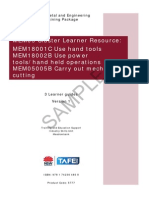 MEM05 Cluster Learner Resource - Learner Guide
