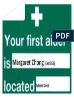 FirstAidSignage Margaret Chong