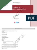 MEM05037C Perform Geometric Development - Learner Guide