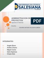Administracion de Proyectos Estudio del Mercado