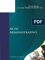 Acto Administrativo - Colombia