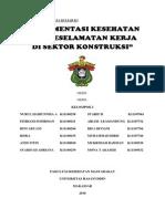makalah k3 konstruksi