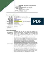 UT Dallas Syllabus for aim3322.001.07s taught by Mary Beth Goodrich (goodrich)