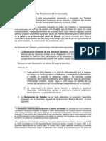 El Derecho Sanitario en Las Declaraciones Internacionales