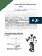 Introduction to Robotics Using LEGO Mindstorm NXT
