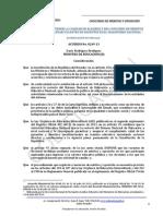 Codif Acuerdo 0249-13