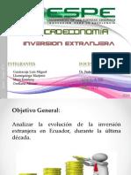 Exposicion Inversion Extranjera