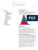 Power Density Function
