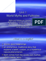 Myths and Folklore Notes