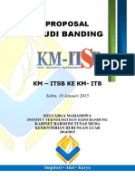 Proposal Studi Banding BEM KM ITSB