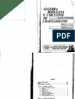 Livro Algebra Booleana e Circuitos de Chaveamento - Elliot Mendelson
