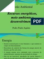 Recursos Energéticos, Meio Ambiente e Desenvolvimento