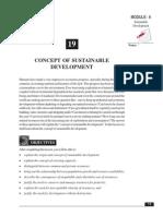 19_Origin and Concept of Sustainable Development