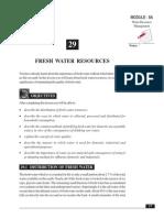 29_Fresh Water Resources