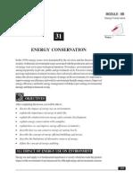31B Energy Conservation