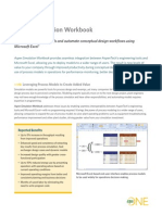 Aspen Simulation Workbook Datasheet