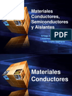 Materiales Conductores, Semiconductores y Aislantes