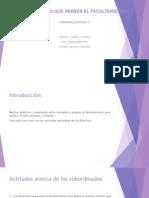 3.3 Habilidades Directivas 1