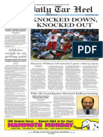 The Daily Tar Heel for Dec. 1, 2014