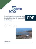SIMEC - Scénarios de déversement en milieu marin - Terminal maritime de Cacouna d'Énergie Est et l'Île Rouge