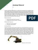 Pengantar Teknologi Mineral