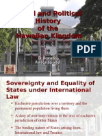 Legal and Political History of the Hawaiian