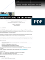 (RE)DISCOVERING THE GREAT WAR | National Museum of Contemporary History, Slovenia, 2015