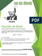 Funciones de Bloch