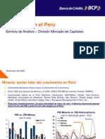 La Mineria en e Peru