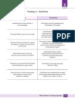 teacher vs facilitator