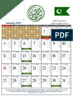 KK Calendar 2015