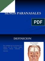 SENOS PARANASALES
