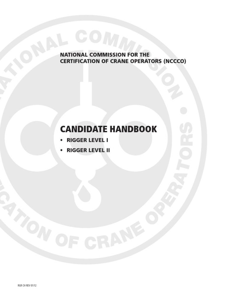Rigger exam procedure test assessment professional certification fandeluxe Images